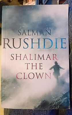 'shalimar the clown' by Salman Rushdie paperback book