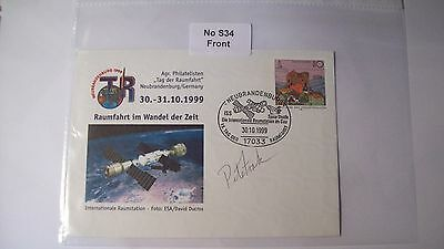 Cosmonaut Autograph Personally Hand Signed From an Old Collection, ref NoS34