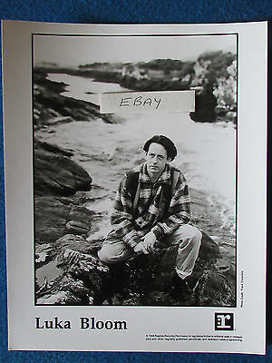 "Original Press Promo Photo - 10""x8"" - Luka Bloom - 1994"