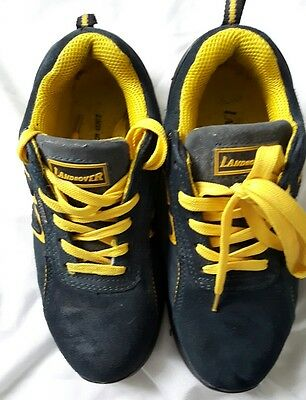 mens womens steel toe cap safety work shoes size 6