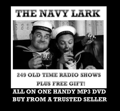 The Navy Lark Mega Collection 249 Old Time Radio Shows comedy MP3 DVD otr