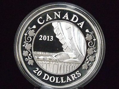 2013 Canada $20 Birth of the Royal Baby 1 oz 9999 Fine Silver Coin A
