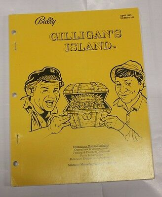 Bally Gilligan's Island Operations Manual