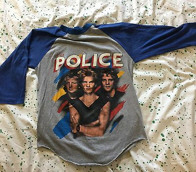 The Police Synchronicity North American Tour 1983-1984