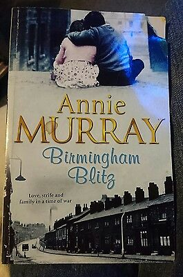 'Birmingham blitz' by Anne Murray paperback book