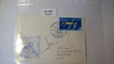 Cosmonaut Autograph Personally Hand Signed From an Old Collection, ref NoS58