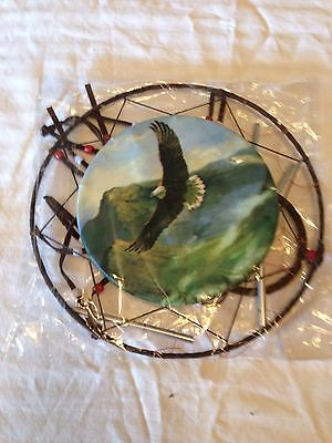 Eagle Dream Catcher With Chimes