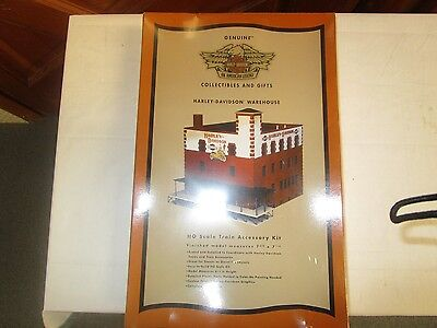 Harley Davidson Ho Scale Warehouse Kit 1-87 Scale Mint Rare