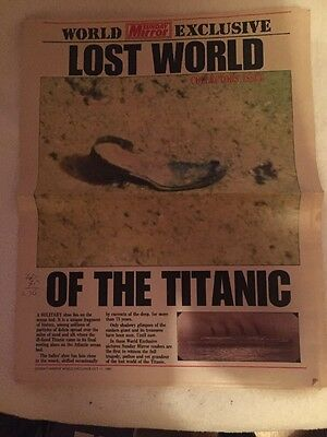 Sunday Mirror Collectors Issue About Titanic