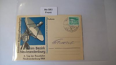 Cosmonaut Autograph Personally Hand Signed From an Old Collection, ref NoS63