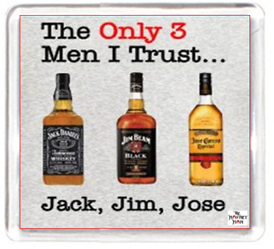 Fridge Magnet Whiskey Alcohol Man Friend Jack Jim Jose Best Friend Mate Humour