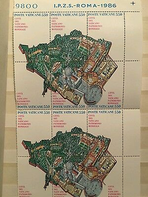 Old vatican and italian stamps