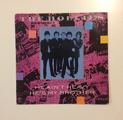"""The Hollies - He Ain't Heavy He's My Brother - 12"""" LP Vinyl Record - (1988)"""