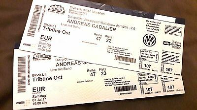 2 tickets f r andreas gabalier am im olympiastadion in m nchen eur 274 53 picclick de. Black Bedroom Furniture Sets. Home Design Ideas