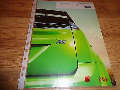2008 Ford Focus Rs Car Brochure