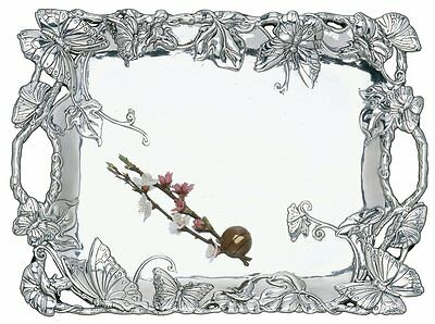 Arthur Court Butterfly Clutch Tray Absolutely Stunning Stand Alone Pc!