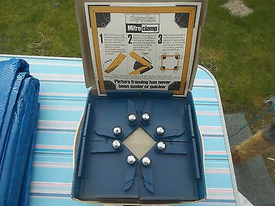 Vintage Copydex Mitre Clamp Up to 40mm picture Frame