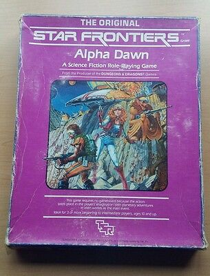 Star Frontiers: Alpha Dawn Role Playing Game. Dungeons and Dragons
