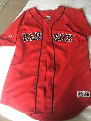 Genuine Red Sox Baseball Shirt Size XL YOUTH