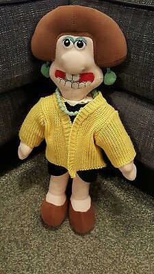 "Wallace and gromit ""Wendolene"" figure"