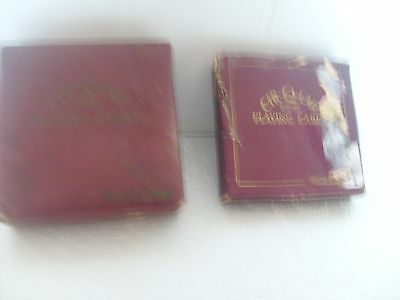 Old Collectable Set Of Waddingtons Cir-Q-Lar Playing Cards - In Original Box