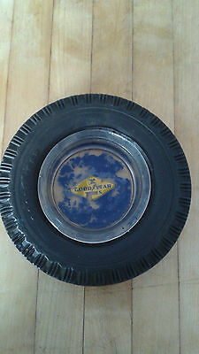 Vintage GOODYEAR Tires Advertising Tire Ashtray