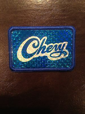 Chevy Vintage Patch *Blue
