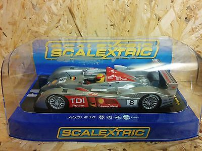 Scalextric Audi R10 - Brand New in Box - Lights