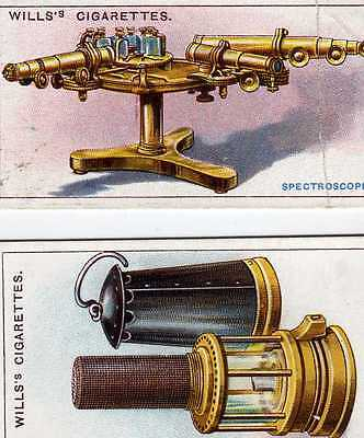 Famous Inventions 1915 - Wills cigarette cards