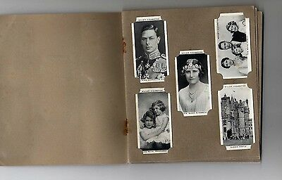 Our King and Queen 1937 - Wills cigarette cards
