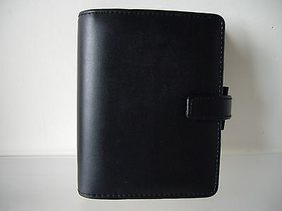 Filofax Identity Black Leather Look Personal Organiser