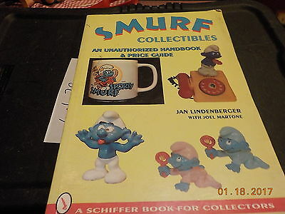smurf collectibles price guide schiffer book jan lindenberger free shipping