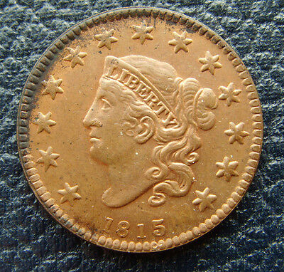 Usa 1815 Cent Token (Read Listing)