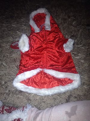 Doggy Santa Suit - Small
