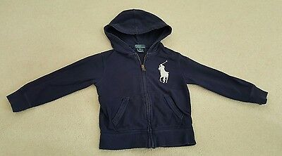 Ralph Lauren Polo's Boy's long sleeves Jacket, 4T, Blue
