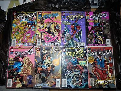 Scarlet Spider Comic Book Collection (12 Comics) (Spider-Man) (1995/1996) Marvel