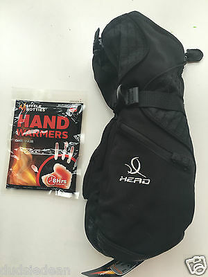 Head Size L Womens Ski Mitten Gloves & Hand Warmers New Snowboarding Skiing