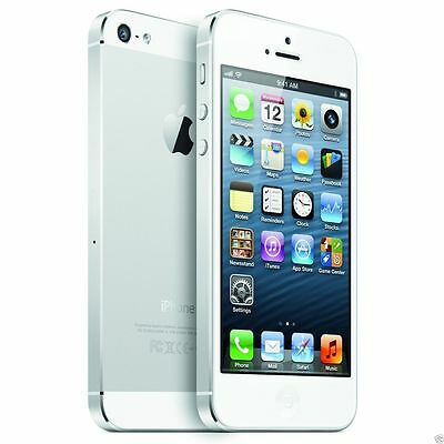 Apple iPhone 5 16GB GSM Unlocked 4G LTE 8MP Smartphone - White