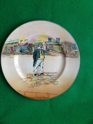 A Royal Doulton series ware plate Capn. Cuttle