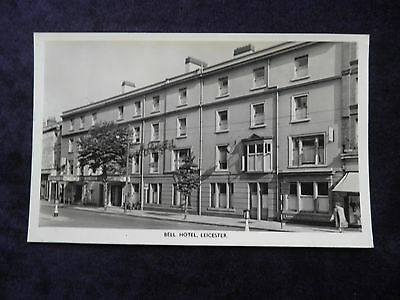 Vintage Postcard of Bell Hotel, Leicester, Photochrom for Trust Houses Ltd.