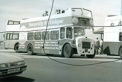Bus Photo,southern Vectis Photograph Picture,bristol Flf Lodekka At Yarmouth,iow