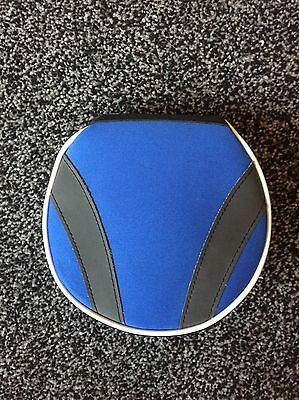 Blue And Black CD DVD Storage Case, Excellent Condition