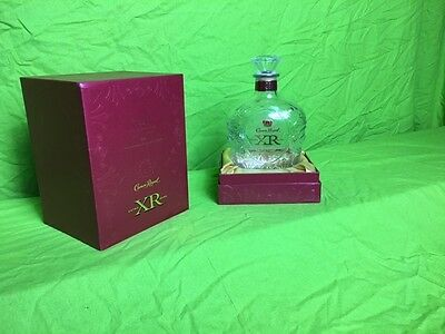 Crown Royal XR Bottle (empty) with Box. Rare Waterloo Edition.