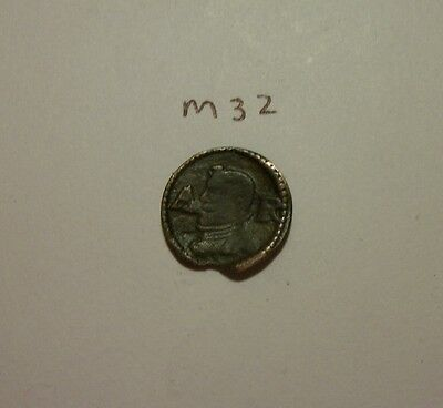 Unusual medieval coin. (m32)