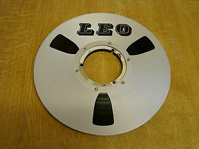 LEO 10.5 NAB Metal Spool 3600ft DP Tape & Box -  Revox - Technics - Sony - Teac