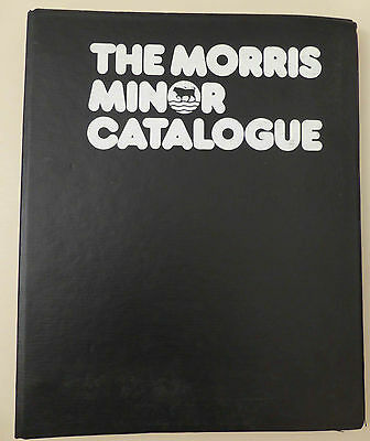The Morris Minor Catalogue (Morris MInor Centre)