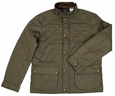 Polo Cadwell Green Quilted Puffer Ralph Litchfield Lauren E2I9DH