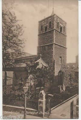 Cambridgeshire Postcard Cambridge St Benedict Church Unposted Early Postcard