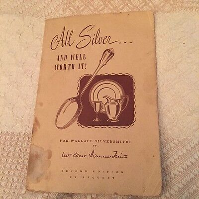 1947 Wallace Silversmiths All Silver Catalog