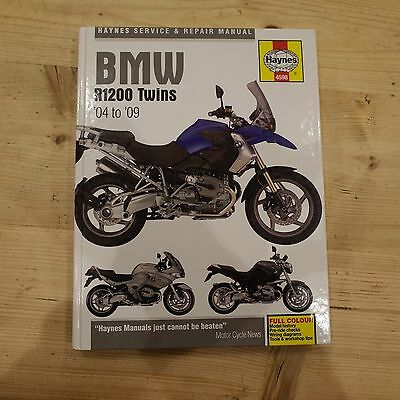 BMW R1200 Haynes manual - models from 2004 - 2009